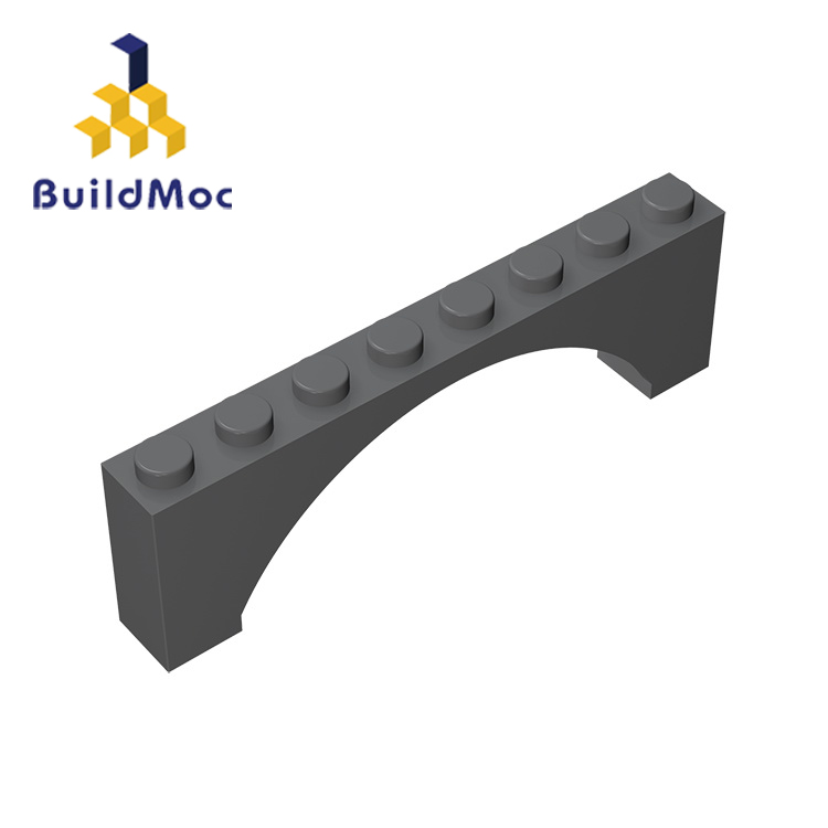 BuildMOC 16577 3308 1x8x2 Arch Brick Building Blocks Parts DIY  Educational Creative Gift Toys