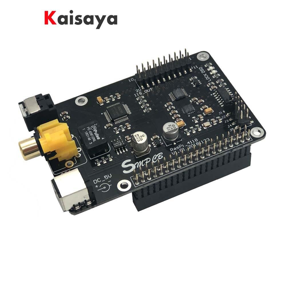 Ak4118 Koaxial Hifi Soundkarte Dac I2s Dsd Digitale Rundfunk 32bit Pcm384 Dsd128 Für Raspberry Pi 3b B G5-001 Reich Und PräChtig 3b