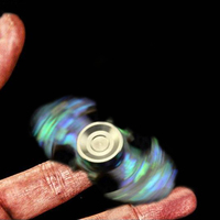 Colorful Batman EDC Hand Spinner Fidget Bearing Ball Focus Toy Adult Kids
