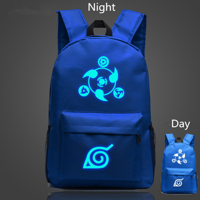 Naruto Luminous Glowing Backpack