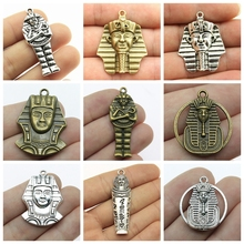 New Fashion Ancient Egypt Decoration Mix Charms For Jewelry Making Diy Craft Supplies Souvenirs Gift