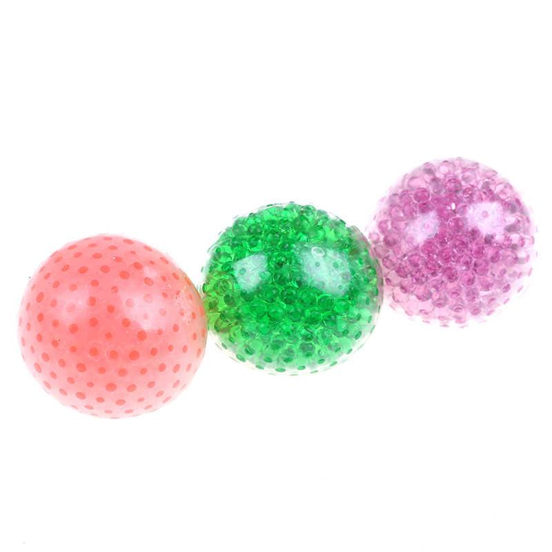 Schwammig Perle Stress Ball Spielzeug Squeezable Stress Squishy Spielzeug Stress Relief Ball Neuheit Lustige Anti-stress Spielzeug Für Kinder erwachsene