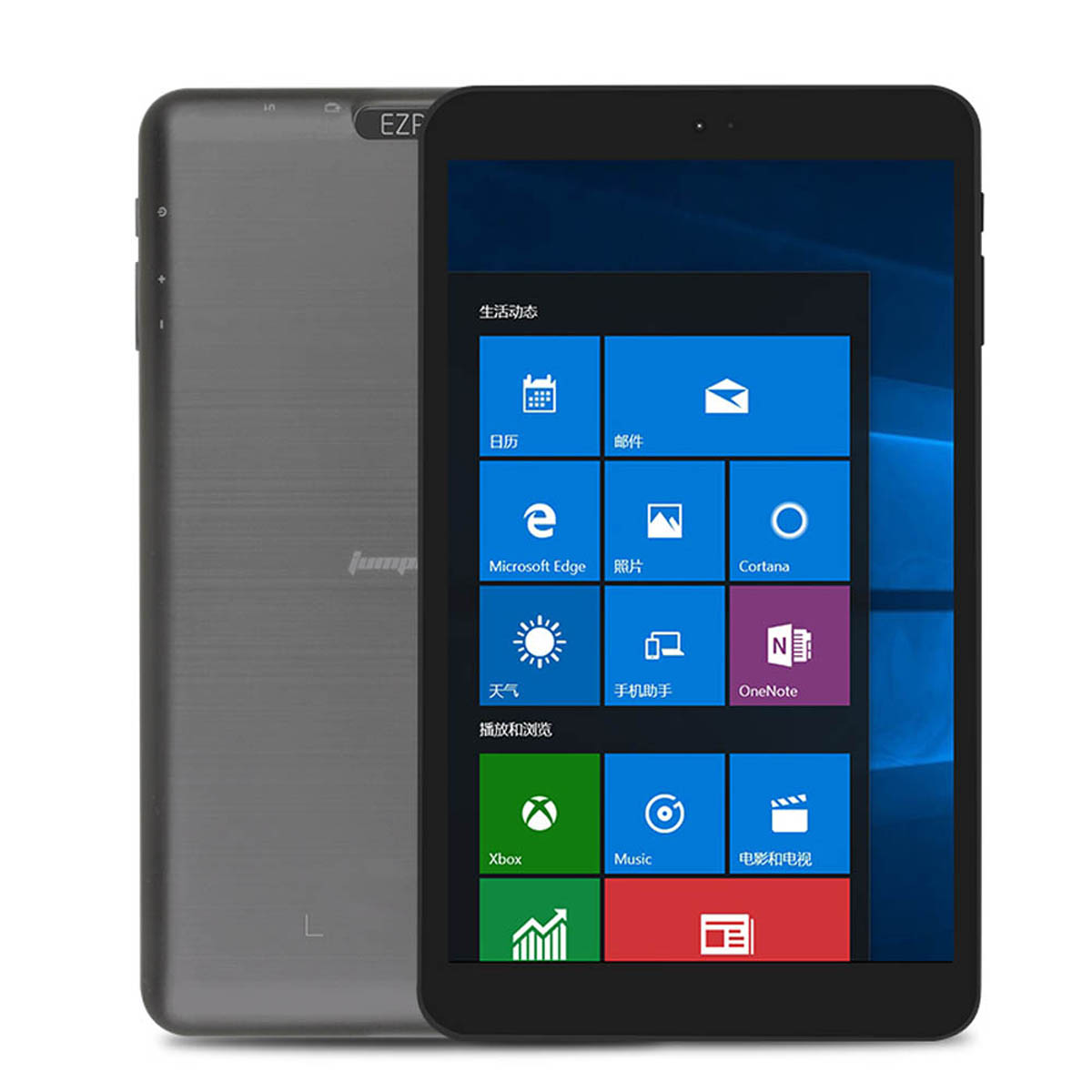 Caixa Original Jumper Ezpad Mini 5 Intel Cereja Trilha Z8350 2GB RAM GB Windows 10 32 8 Polegada Tablet