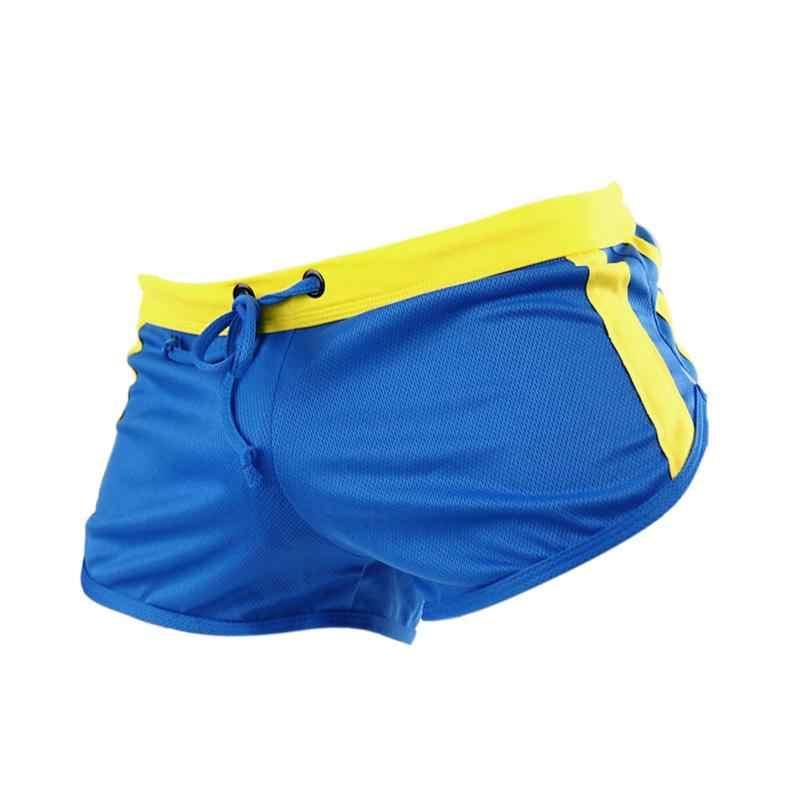 Свободные мужские плавки мужские купальники короткие пляжные шорты для серфинга Горячие тренировочные шорты для бега M/L/XL