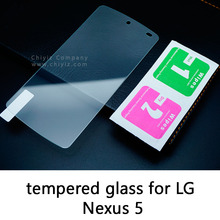 Glossy Lucent Frosted Matte Anti glare Tempered Glass Protective Film Screen Protector For Google LG Nexus