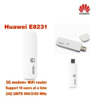 HUAWEI E8231 Mobile 3G WiFi Modem Router Upgrade Version Of Huawei E355 Unlocked Supporting Up To