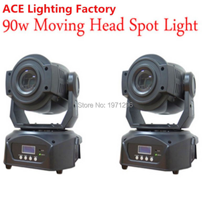 2pcs lot Free Fast Shipping New Hot sale 90W LED Spot Moving Head font b Light