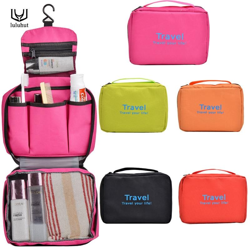 luluhut kozmetikai utazási tároló táska nagy kapacitású hordozható vízálló smink táska mosó szerszám szervező betét kis zseb