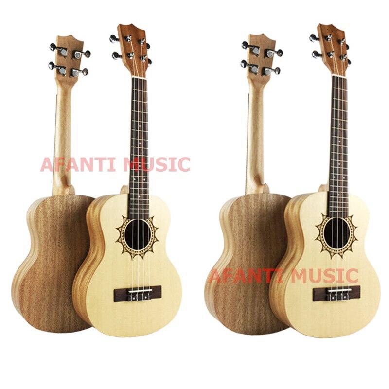 Afanti  Music Picea Asperata / Spalele / 26 inch Ukulele (DGA-206) 500pcs 0402 1005 3 9nh chip smt smd multilayer inductors