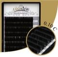 LashView High Quality C Curl .10mm Thickness Mink Individual Black False Eyelash Extensions 8-10-12-14mm Tray Lash