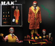 Pre order full set 1/6 Figure Batman Joker Jared Leto Uncle Burger Junk Food Clown Action Colletible Toys