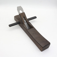350mm Ebony Wood Planer Hand Trimming Polishing Handcrafted with Handles Wooden Craft Diy Tool