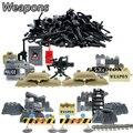 DIY Военная Серия Полиции Swat Gun Weapons Pack Армии Оружие Кирпич Для Городской Полиции Строительный Блок Лучший Подарок Детям Игрушки