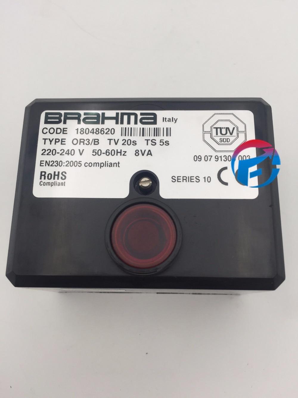 где купить OR3/B Control Box BRAHMA for Burner Program Controller New Original дешево