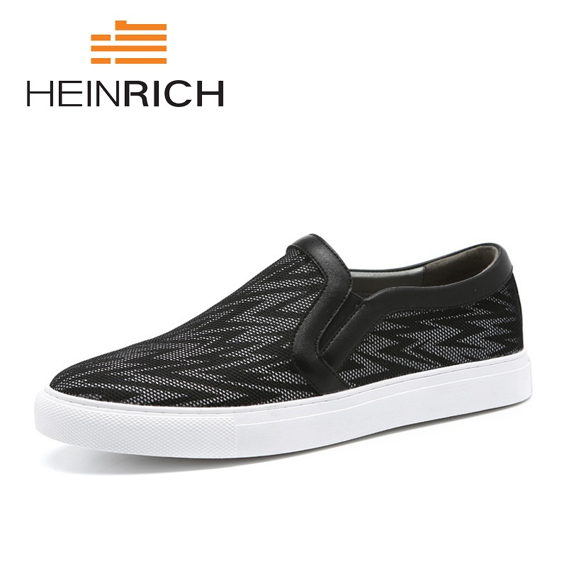 HEINRICH New Hot Sale Summer Fashion Shoes Men Lightweight Breathable Casual Shoes Popular Slip-On Flats Shoes Soulier HommeHEINRICH New Hot Sale Summer Fashion Shoes Men Lightweight Breathable Casual Shoes Popular Slip-On Flats Shoes Soulier Homme