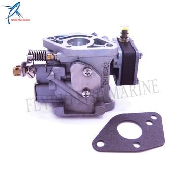 Boat Engine Carburetor Assy and Gasket for Hangkai 2-stroke 5hp 6hp Outboard Motor