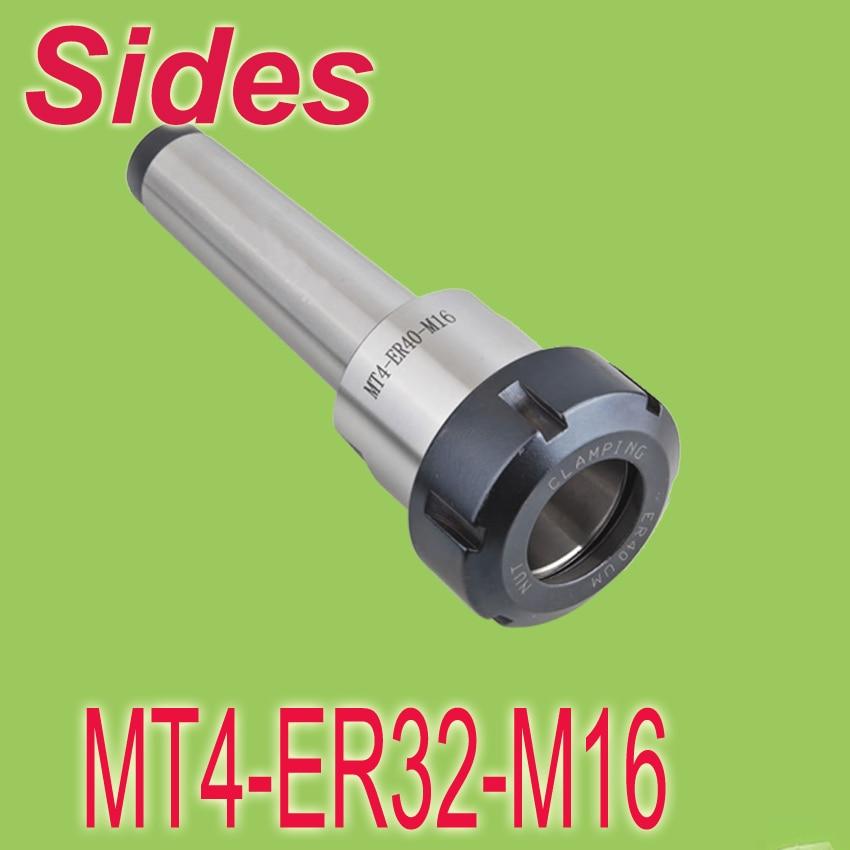 ФОТО MT4-ER32-M16 Metric Morse Taper ER  Spring Collet Chuck CNC  Milling Toolholder  Free Shipping
