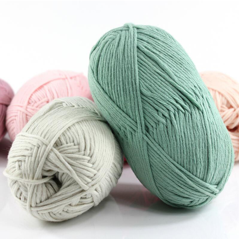 Knitting Yarn Aliexpress : Wholesale balls lot natural soft health cotton yarn