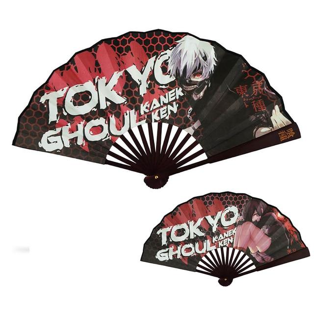 Tokyo ghoul Black Rock Shooter Naruto Hand Fan