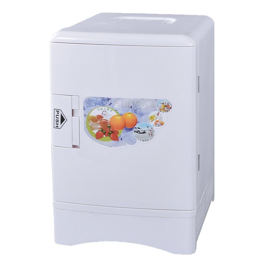 CB-D068 Portable Freezer 13.5L Mini Fridge Refrigerator Car Home A Dual Use Compact Car Fridge 12/220 V Temperature Variations