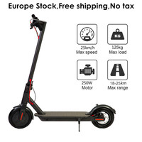 Europe Stock 8.5 Inch Folding Electric Scooter IP54 25KM Mileage Adult Foldable Electric Kick Scooter 8.5 Two Wheels E Scooter