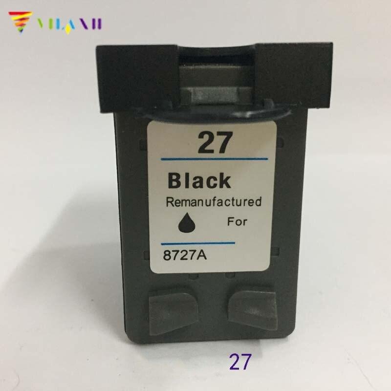 Vilaxh compatível cartucho de tinta substituição para hp 27 deskjet 3320 3323 3325 3420 3425 3550 3650 psc 1315 impressora cartucho tinta
