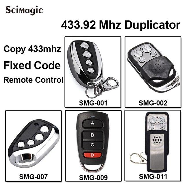 DITEC GOL4C استبدال جهاز التحكم عن بعد استنساخ 433.92/433MHz رمز ثابت مفتاح fobs