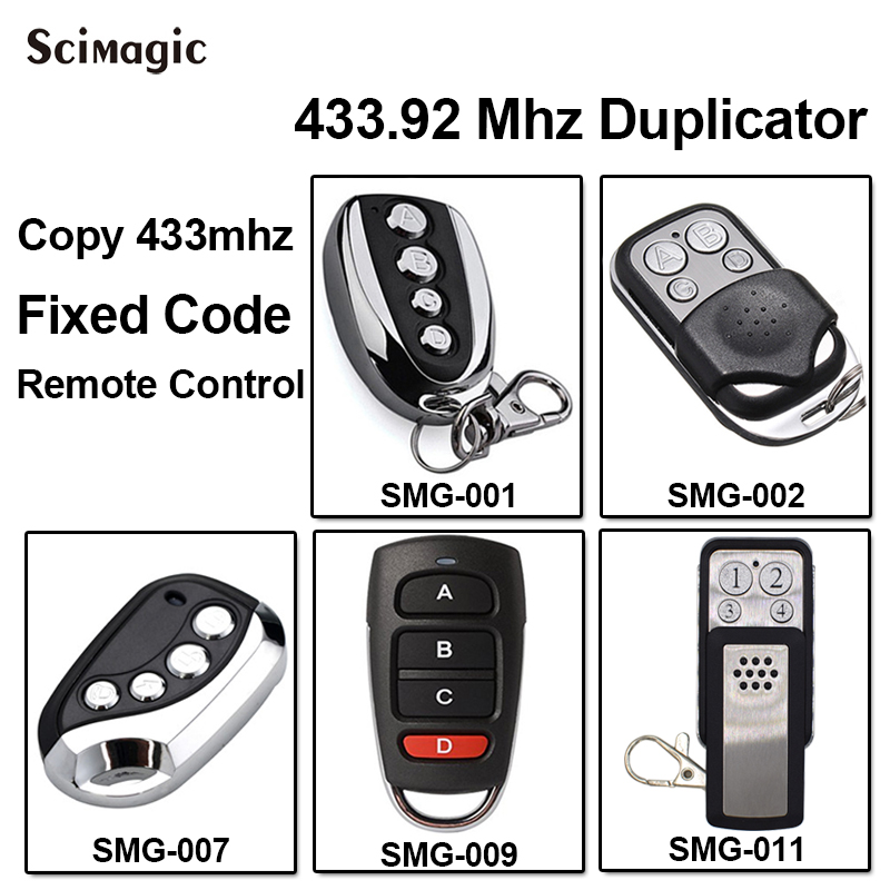 Remote Radio Control command adyx 433,92mhz Clone 4 frequencies