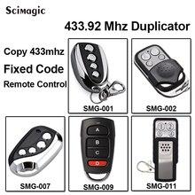 Ditec GOL4C Vervanging Afstandsbediening Transmitte Clone 433.92/433 Mhz Vaste Code Sleutelaanhangers