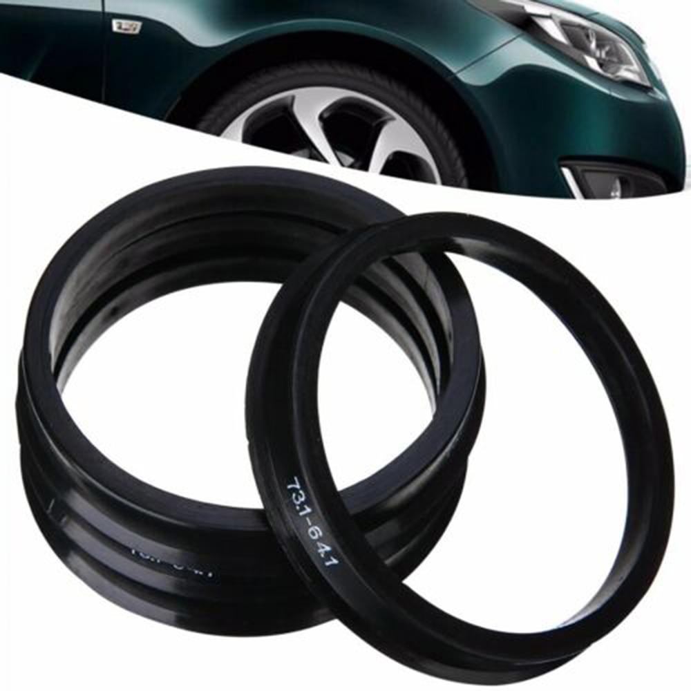 4pcs Hub Centric Ring Car Wheel Bore Center Collar 773.1-64.1mm Wheel Hub Rings Car Accessories For Honda Wheel Hub Rings