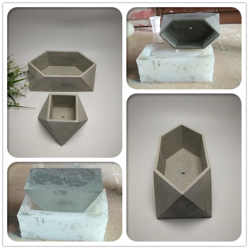 buy flower pot silicone molds geometric moulds silicone cement mould 3d vase. Black Bedroom Furniture Sets. Home Design Ideas