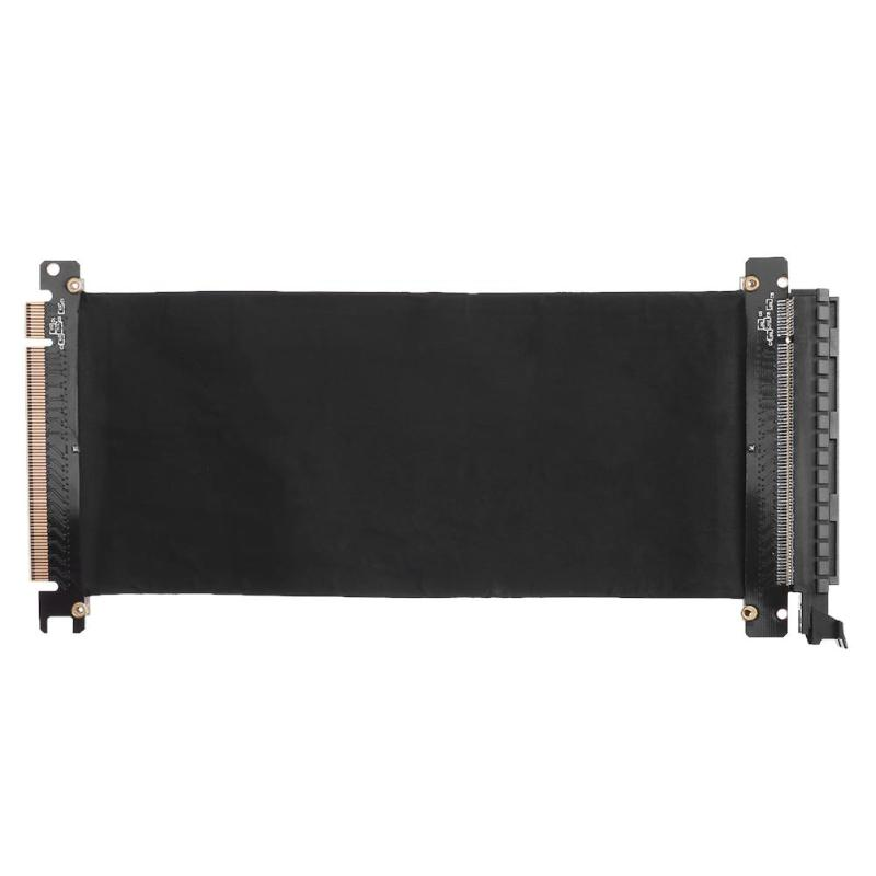 PCI Express haute vitesse 16x câble Flexible Extension Port adaptateur carte Riser haute qualité stabilité de Transmission avec ligne 24 cm