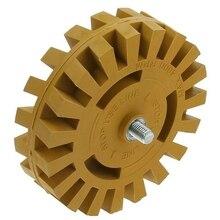 Уход За чисткой автомобиля Pinstripe наклейка ластик прокладка резиновая диск пневматические автомобильные декоративные наклейки для удаления инструментов