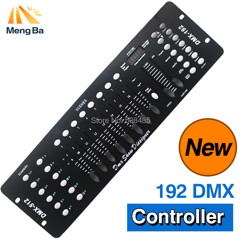 192 DMX Controller Stage Lighting DJ equipment DMX 192 Console for LED Par Moving Head Spotlights DJ Controller 2 pc lot new 192 dmx controller dmx 192 mini stone controller 192 dmx control for stage dmx console light moving head light