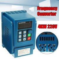 220V 4KW 50HZ 60HZ 5HP Variable Frequency Drive Inverter VFD