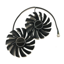 85 мм/95 мм HA9010H12F-Z PLD10010S12HH VGA GPU карты кулер вентилятор для MSI RX480 RX580 RX470 RX570 панцири игровой охлаждения карт