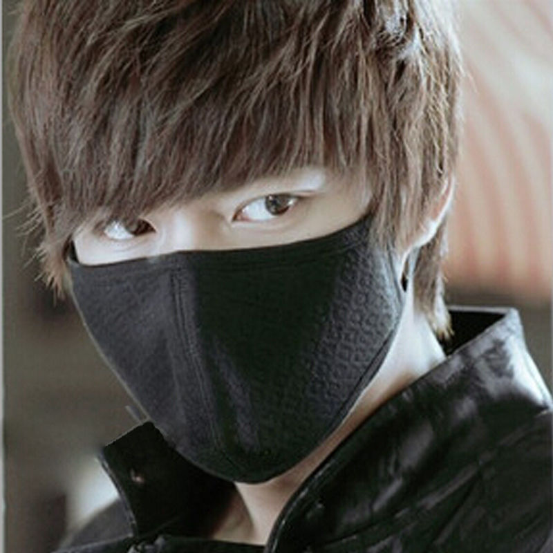 Anti-Dust Mouth Face Mask Korean Style Cotton Facial Protective Cover Masks For Men New Arrival