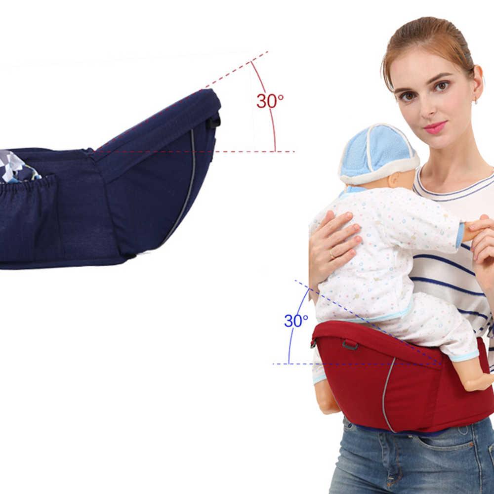 Soporte ergonómico para la cintura del bebé taburete de la cintura del bebé andador del asiento del Hipseat Sling ajustable del niño