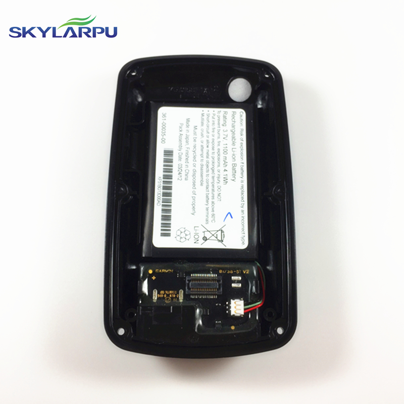 skylarpu rear cover for GARMIN APPROACH G6 bicycle speed meter back cover With Battery Repair replacement Free shipping чайник эмалированный wellberg 1 л 3431 f wb