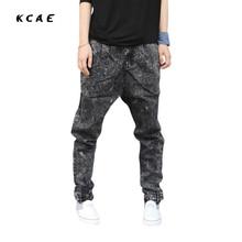2015 New Men Baggy Plus Size Jogger Pants Elastic Casual Harem Pants Hip Hop Taper Pants Sweat Pants Men Trousers Legging Jeans