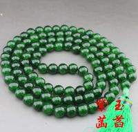 Natural stone beads court super long necklace