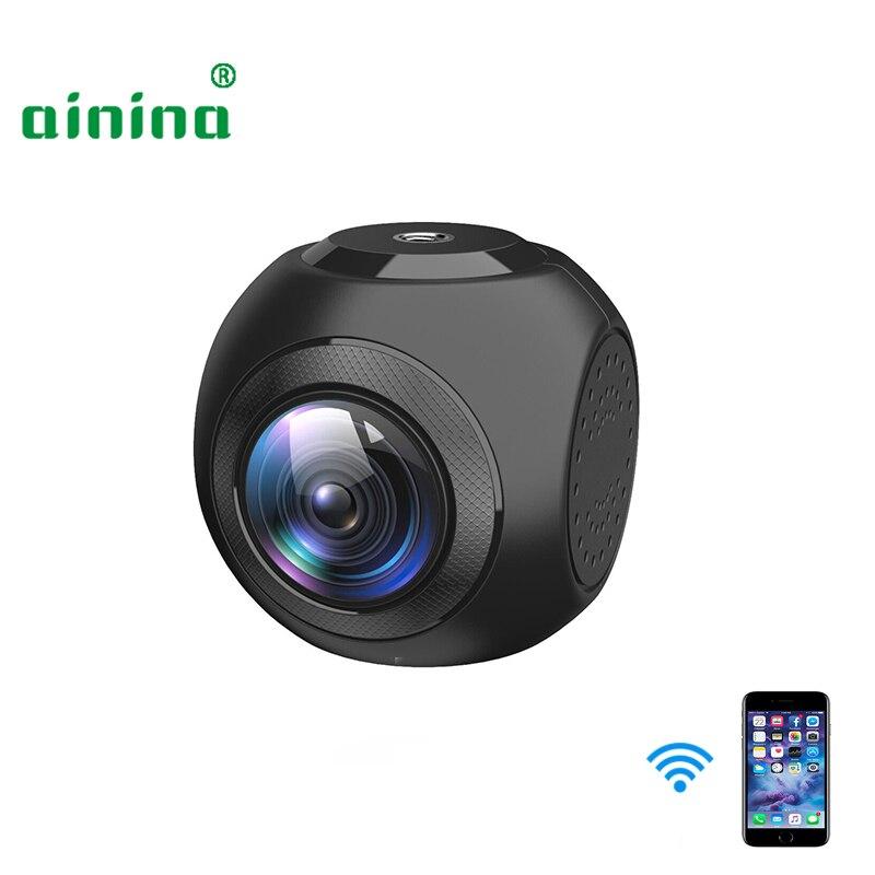 Ainina WiFi Mini Hidden Car Camera Cute Ball Shape WiFi Car Dvr Camera Recorder ,140 Degree View Angle WiFi Car Dash Cam