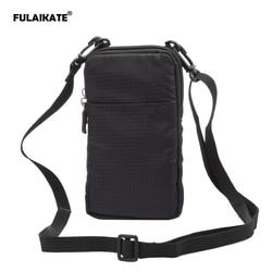 FULAIKATE SPORTS universel portefeuille sac pour iphone 6 7 Plus escalade Portable étui pour iphone 6 s téléphone Portable sac à bandoulière étui