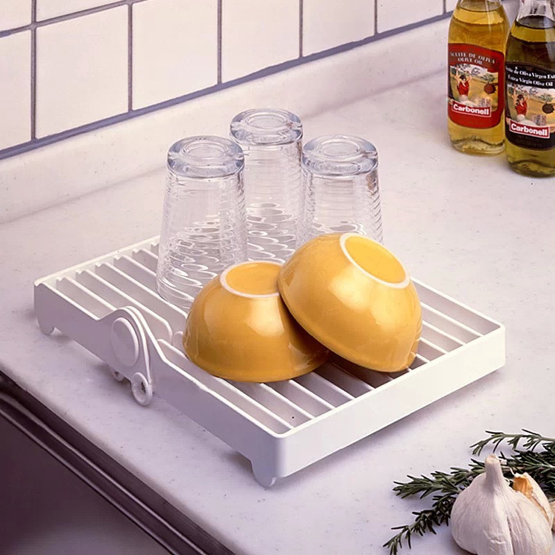 Foldable Dish Dry Rack Sink Holder Dish Plate Organizer Drainer Kitchen Storage China Mainland