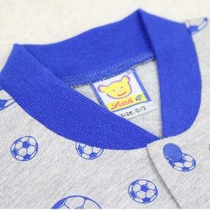 Image 4 - 2020 Nhỏ Mới Q Nữ Tay Ngắn Một Mảnh Bodysuits 10 Cái/lốc Sơ Sinh Nguyên Chất 100% Cotton Quần Áo Bé Gái Mùa Hè Trẻ Em In Hình quần Áo