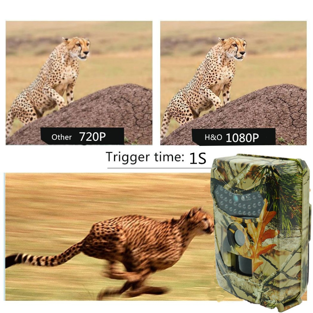 HD Trail Hunting Camera Infrared 940NM LEDs Night Vision Waterproof IP56 Game Scouting Wildlife Cameras (13)
