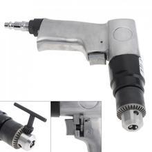 """Ad 102 1/4 """"1700rpm reversão positiva pistola tipo pneumático furadeira com chave de mandril e conector de baioneta para perfuração de furo"""