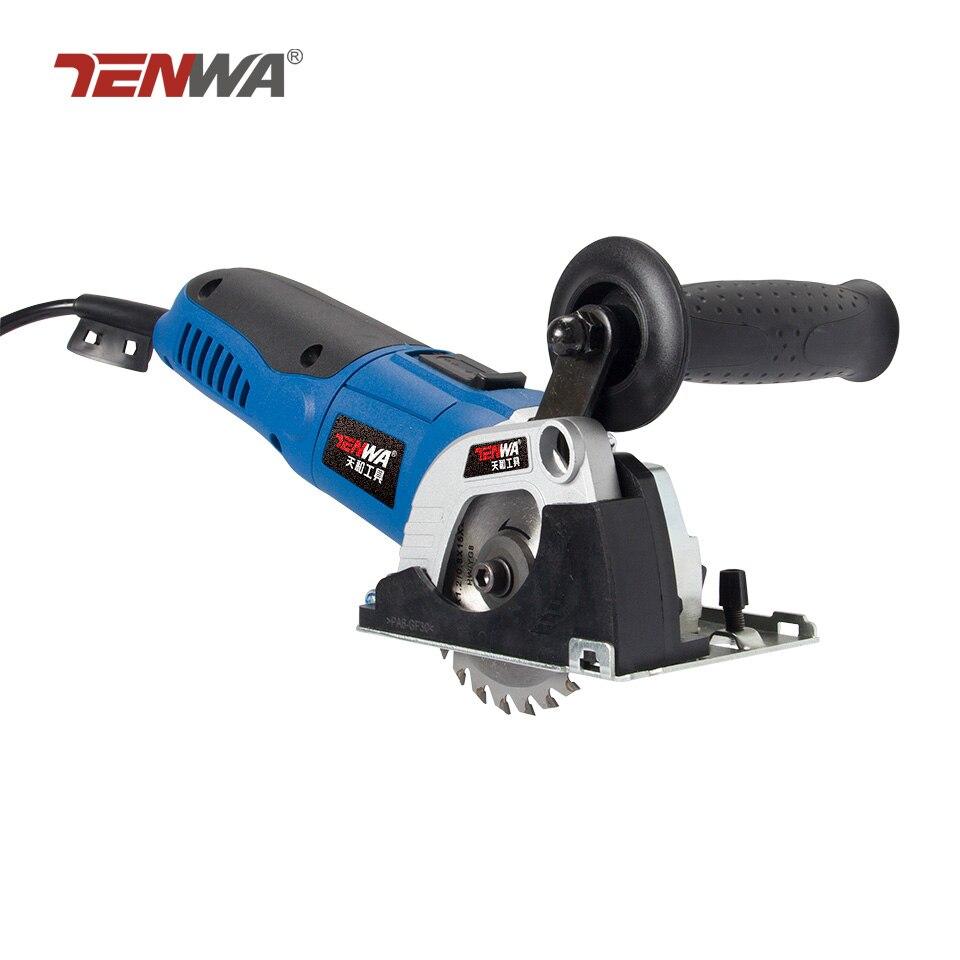 TENWA 500 W scies circulaires portables multifonctions travail du bois portatif Compact ménage bureau outils électriques scies