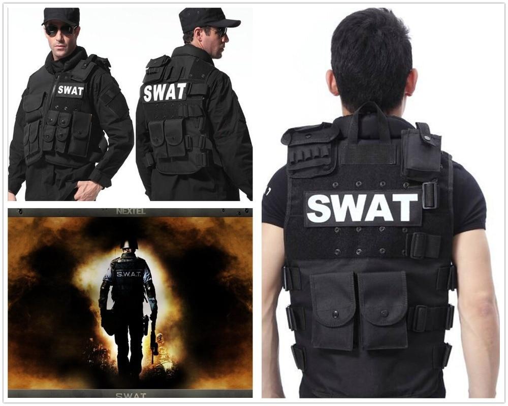 Man's tactical vest ,bulletproof vest Molle Tactical Black ...