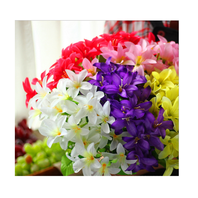 Aliexpress Buy Ccinee 1 Bundle Artificial Lily Flower Used For